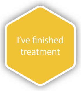 I've finished treatment